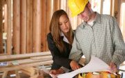 Woman Advising Building Contractor