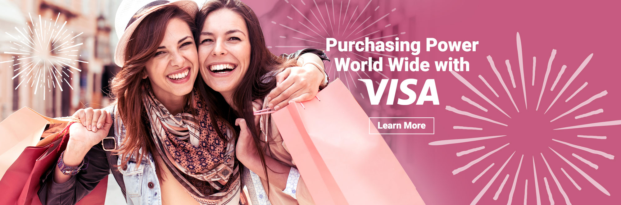 Purchasing Power World Wide with VISA