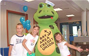 Boomer the Frog with Kids